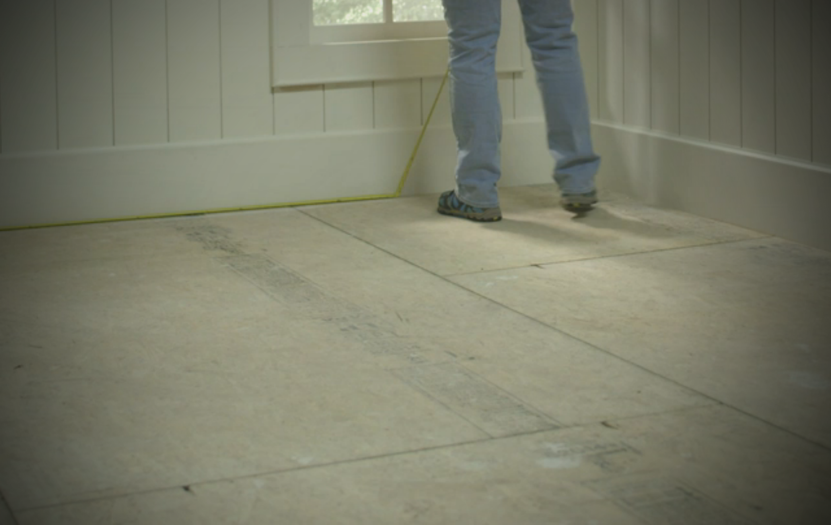 Installing trafficmaster allure in 4 simple steps all about flooring measuring width and length of room dailygadgetfo Image collections